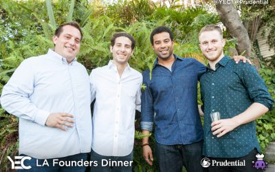 YEC Event Recap: L.A. Founders Dinner