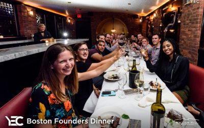 YEC Event Recap: Boston Founders Dinner